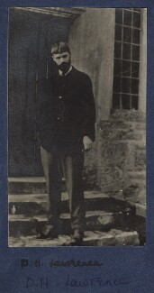 D.H. Lawrence, by Lady Ottoline Morrell - NPG Ax140423