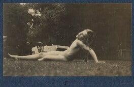Julian Vinogradoff (née Morrell), by Lady Ottoline Morrell - NPG Ax140437