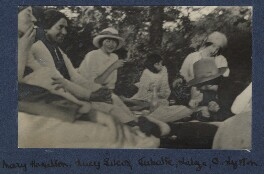 'Picnic in the woods', by Unknown photographer - NPG Ax140443