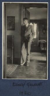 David Garnett, by Lady Ottoline Morrell, 1920 - NPG Ax140447 - © National Portrait Gallery, London