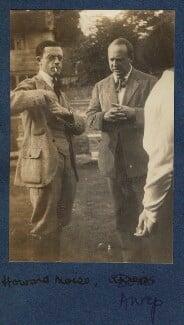 Howard Moïse; Boris von Anrep, by Lady Ottoline Morrell - NPG Ax140449