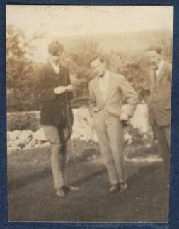 Aldous Huxley; Eric Charles Dickinson; Edward Joseph Harrington O'Brien, by Lady Ottoline Morrell - NPG Ax140450