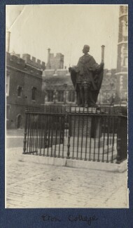 Eton College, by Lady Ottoline Morrell - NPG Ax140486