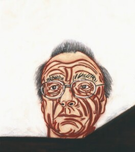 Alfred Brendel, by Tony Bevan, 2005 - NPG  - © National Portrait Gallery, London