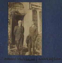John Howard Whitehouse; Henry William Massingham, by Lady Ottoline Morrell - NPG Ax140493