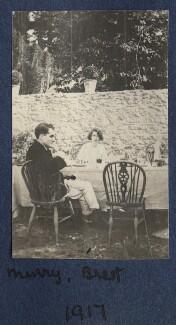 John Middleton Murry; Dorothy Brett, by Lady Ottoline Morrell - NPG Ax140496