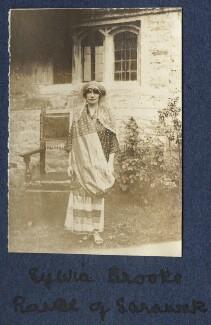 Sylvia Leonora (née Brett), Lady Brooke, Ranee of Sarawak, by Lady Ottoline Morrell - NPG Ax140501