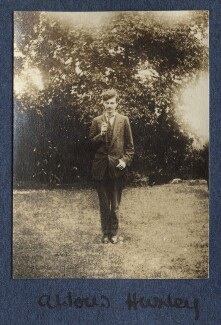 Aldous Huxley, by Lady Ottoline Morrell, 1917 - NPG Ax140505 - © National Portrait Gallery, London