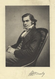 Thomas Henry Huxley, by Maull & Polyblank, photogravure by  Walker & Boutall - NPG x20496