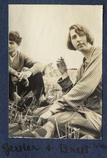 Mark Gertler; Dorothy Brett, by Lady Ottoline Morrell - NPG Ax140529
