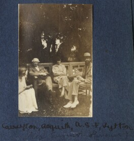 Garsington visitors, by Lady Ottoline Morrell - NPG Ax140551
