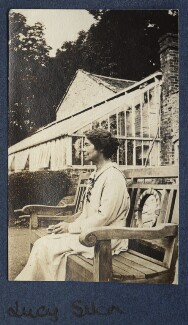 Lucy Mary Silcox, by Lady Ottoline Morrell - NPG Ax140570