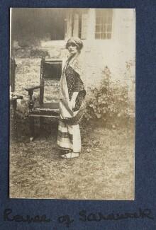 Sylvia Leonora (née Brett), Lady Brooke, Ranee of Sarawak, by Lady Ottoline Morrell - NPG Ax140573