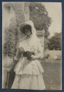Lady Ottoline Morrell, by Unknown photographer - NPG Ax140583