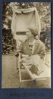 Lucy Mary Silcox, by Lady Ottoline Morrell - NPG Ax140584