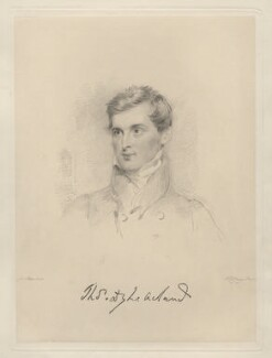 Sir Thomas Dyke Acland, 10th Bt, by Frederick Christian Lewis Sr, after  Joseph Slater - NPG D20573