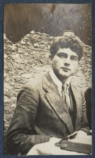 Mark Gertler, by Lady Ottoline Morrell, 1917 - NPG Ax140590 - © National Portrait Gallery, London