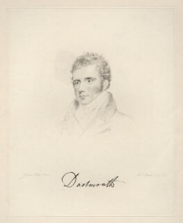 William Legge, 4th Earl of Dartmouth, by Frederick Christian Lewis Sr, after  Joseph Slater, 1831 - NPG D20576 - © National Portrait Gallery, London