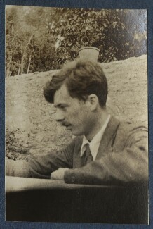 Aldous Huxley, by Lady Ottoline Morrell, 1917 - NPG Ax140595 - © National Portrait Gallery, London