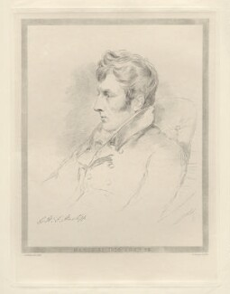 George Harry William Fleetwood Hartopp, by Frederick Christian Lewis Sr, after  Joseph Slater - NPG D20582