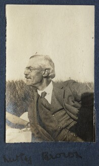 Frederick Brown, by Lady Ottoline Morrell - NPG Ax140605