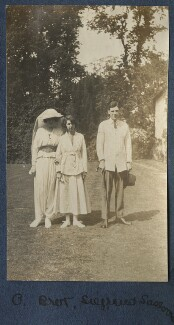 Lady Ottoline Morrell; Dorothy Brett; Siegfried Sassoon, by Lady Ottoline Morrell, 1917 - NPG  - © National Portrait Gallery, London