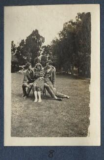 Mark Gertler; Dorothy Brett; Aldous Huxley, by Lady Ottoline Morrell - NPG Ax140692