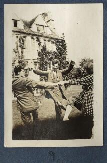 Mark Gertler; Aldous Huxley; Dorothy Brett, by Lady Ottoline Morrell - NPG Ax140693