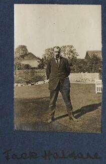 John Burdon Sanderson Haldane, by Lady Ottoline Morrell - NPG Ax140731