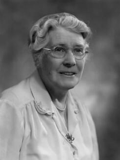 Dame Katharine Henrietta Jones, by Bassano Ltd - NPG x170852