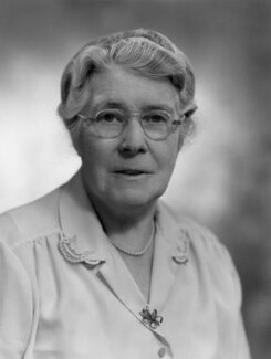 Dame Katharine Henrietta Jones, by Bassano Ltd - NPG x170853