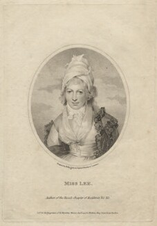 Sophia Lee, by William Ridley, published by  Thomas Bellamy, after  Sir Thomas Lawrence - NPG D20847