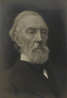 Donald James Mackay, 11th Baron Reay, by James Russell & Sons - NPG Ax46116