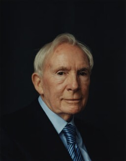 Sir Ernest Thomas ('Ernie') Harrison, by Adam Broomberg and Oliver Chanarin, 22 April 2005 - NPG  - © National Portrait Gallery, London