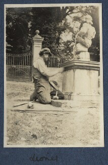 Lionel Gomm (né Lionel Harry Weedon Collinson), by Lady Ottoline Morrell - NPG Ax140749