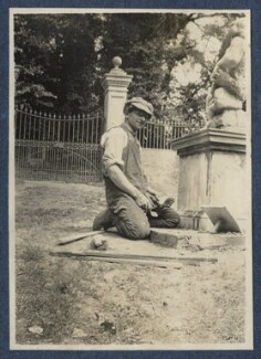 Lionel Gomm (né Lionel Harry Weedon Collinson), by Lady Ottoline Morrell - NPG Ax140750