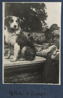 'Glen and Lionel' (Lionel Gomm (né Lionel Harry Weedon Collinson)), by Lady Ottoline Morrell - NPG Ax140781