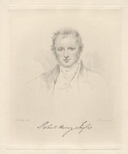 Sir Robert Harry Inglis, 2nd Bt, by Frederick Christian Lewis Sr, after  Joseph Slater - NPG D20583