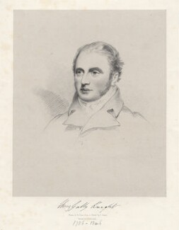 Henry Gally Knight, by Richard James Lane, after  Joseph Slater - NPG D20584
