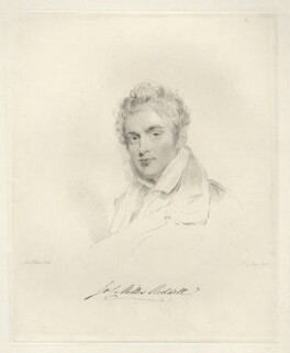 Sir James Milles Riddell, Bt, by Frederick Christian Lewis Sr, after  Joseph Slater - NPG D20588