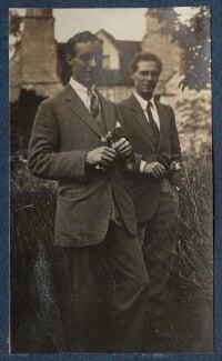 Alan MacIver; Ralph Partridge, by Lady Ottoline Morrell - NPG Ax140803