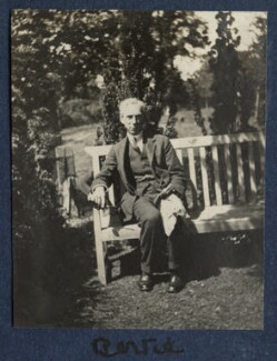 Bertrand Arthur William Russell, 3rd Earl Russell, by Lady Ottoline Morrell, 1920 - NPG Ax140817 - © National Portrait Gallery, London