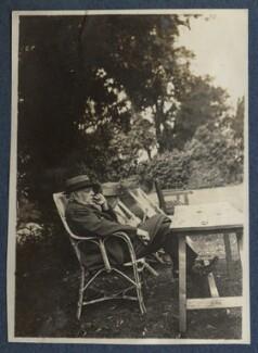 Augustine Birrell; Anthony Birrell, by Lady Ottoline Morrell - NPG Ax140827