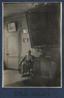 Ethel Sands, by Lady Ottoline Morrell - NPG Ax140834