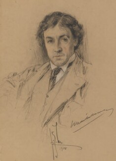 Sir John Martin-Harvey, by Richard George Mathews - NPG 6732