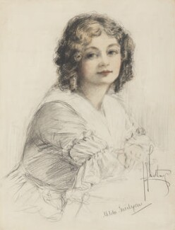 Hilda Trevelyan (Hilda Marie Antoinette Anna Tucker), by Richard George Mathews - NPG 6734