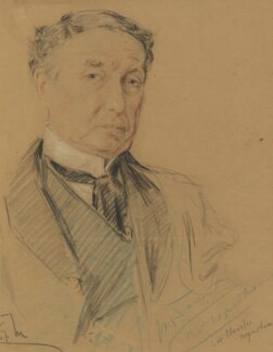 Sir Charles Wyndham (Charles Culverwell), by Richard George Mathews - NPG 6735