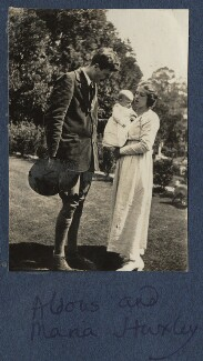 The Huxley family, by Lady Ottoline Morrell - NPG Ax140859