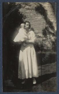 Matthew Huxley; Maria Huxley (née Nys), by Lady Ottoline Morrell - NPG Ax140862
