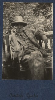 André Gide, by Lady Ottoline Morrell - NPG Ax140868